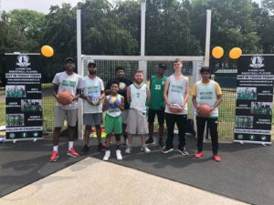 West Brom basketball club camps