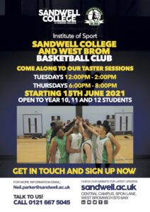 Sandwell College taster sessions